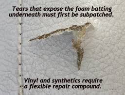 How To Repair Tear In Leather Chair Leather Furniture Restoration Choose The Right Products