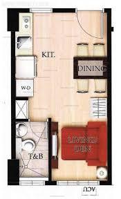 floor plan studio type tower 1 cambridge village empire east land holdings condo for