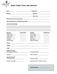 dinner order form template free printable catering services agreement sle printable