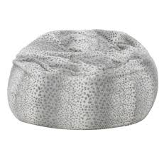 Fuzzy White Chair Bean Bags Chairs Target