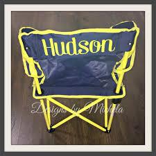 children u0027s outdoor monogrammed folding sports chair gf060