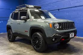jeep gray lifted 2016 jeep renegade trailhawk 4x4 northwest motorsport