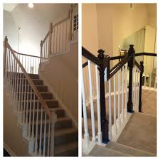Painting A Banister White 34 Best Railing Spindles And Newel Posts For Stairs Images On
