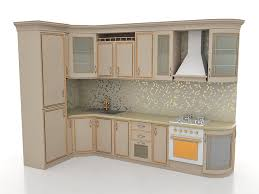small l shaped kitchen designs 3d model 3ds max files free
