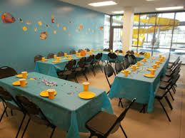 room creative birthday party room designs and colors modern best