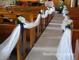 pew decorations for weddings wedding ceremony decoration wedding decoration in toronto and