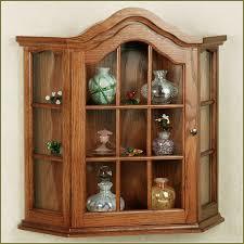 curio cabinet maple corner curio cabinet beacon cabinets for
