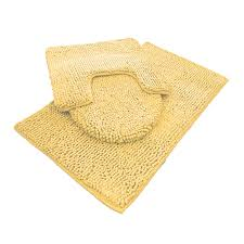 Microfiber Bathroom Rugs Chenille Bath Mat Rug Set 100 Microfiber Noodle Bathroom Mat
