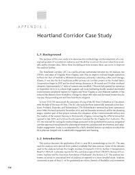 appendix l heartland corridor case study guide for conducting