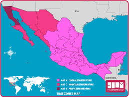 map of time zones usa and mexico us and mexico time zones map timezones thempfa org