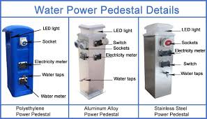 Marine Power Pedestals Marina Power Pedestal Supplier Form China View Dock Power And