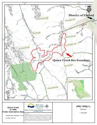 Wildfire Map Kamloops by Update District Of Elkford On High Alert Firefighters Heavy