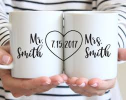 monogrammed wedding gifts personalized wedding etsy