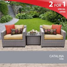 Outdoor Wicker Patio Furniture - details about 3 piece wicker patio shop hanover outdoor furniture