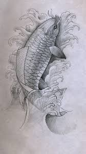 koi tattoo design by vishus702 on deviantart