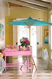 lilly pulitzer inspired luncheon southern living go all out with color