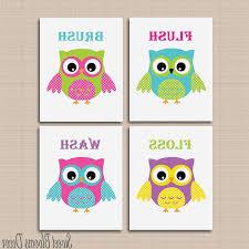 100 kids owl bathroom decor owl decor for bathroom colorful