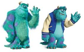 differences mike sully randall monsters