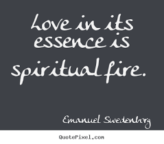 about in its essence is spiritual