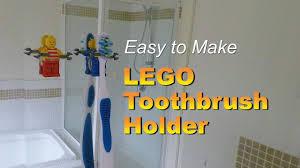 Easy Life Hacks Easy To Make Lego Toothbrush Holder Lego Minifigure Life Hacks