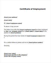 Certification Letter Of Accomplishment Work Certificate Template 7 Free Word Pdf Document Download