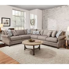 Gray Fabric Sectional Sofa Fabric Sofas U0026 Sectionals Costco