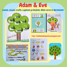 bible fun for kids 1 2 genesis adam u0026 eve