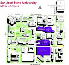 san jose state map maps and directions student union inc of sjsu san jose state