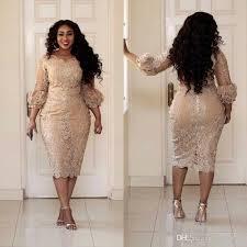 2017 plus size lace prom dresses jewel neck applique 3 4