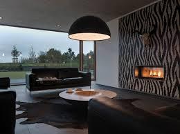 peinture pour canap en cuir décoration salon moderne en noir pour un intérieur tapis