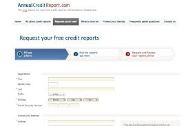 3 bureau credit report free free credit report my fab finance