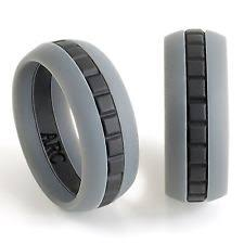 silicone wedding bands mens silicone wedding ring band size 11 athletes workout active