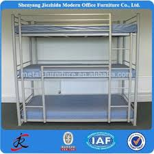 high quality army bed design iron steel bunk bed for sale