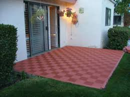 Composite Patio Pavers by Rubber Pavers For Patio Home Design Ideas And Pictures