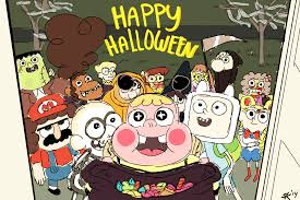 cartoon halloween images drawing by sam king story revisionist on