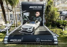 mercedes auctions s63 amg coupe for charity at cannes