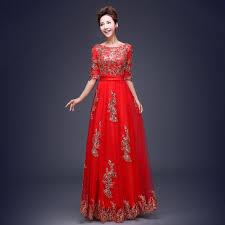 latest design floral print evening dress robe de soiree longue