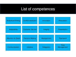 Resume Core Competencies List Work Resume Examples