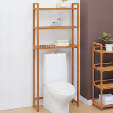 Bamboo Bathroom Space Saver by Above Toilet Cabinets 5 Bamboo Bathroom Space Saver Over Toilet