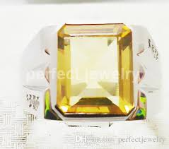 real crystal rings images 2018 men ring natural citrine rings 925 sterling silver perfect jpg