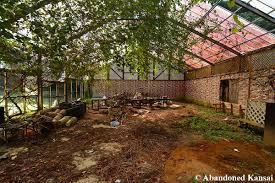 deserted garden restaurant abandoned kansai