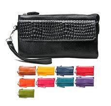 leather women s wallet pattern larger size stone pattern genuine split leather women lady s wallet