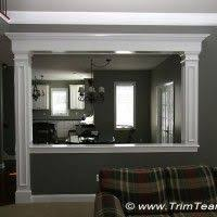 best 25 half walls ideas on pinterest half wall kitchen