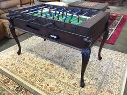 Regulation Foosball Table Mala International Foosball Table Set In An Elegant Wood Table