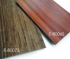 best commercial glossy waterproof click lock vinyl plank flooring