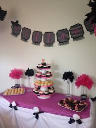home decor for cheap party in bridal shower decor cement patio