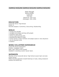 resumes for high students skills high resume skills exles template