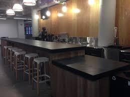 concrete top bar table origins concrete design