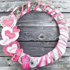 valentines wreaths diy s wreath 100 directions
