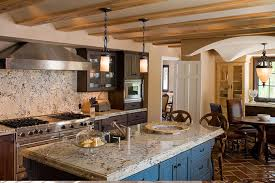 Spanish Mediterranean Homes Spanish Mediterranean Kitchen Design Mediterranean Kitchen
